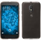 Silicone Case for Lenovo Moto E3 transparent gray