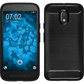 Silicone Case Moto E3 Ultimate black
