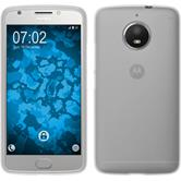 Silicone Case Moto E4 Plus (EU Version) matt white + protective foils