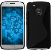 Silicone Case Moto G5 S-Style black