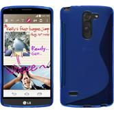 Silicone Case for LG G3 Stylus S-Style blue
