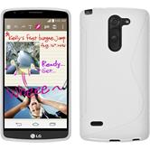 Silicone Case for LG G3 Stylus S-Style white