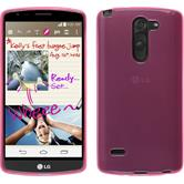 Silicone Case for LG G3 Stylus transparent pink