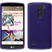 Silicone Case for LG G3 Stylus transparent purple