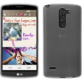 Silicone Case for LG G3 Stylus transparent white