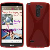 Silicone Case for LG G3 Stylus X-Style red