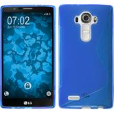 Silicone Case for LG G4 S-Style blue