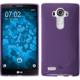Silicone Case for LG G4 S-Style purple