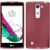 Silicone Case for LG G4c brushed pink