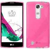 Silicone Case for LG G4c S-Style hot pink