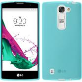 Silicone Case for LG G4c transparent turquoise