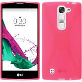 Silicone Case for LG G4c X-Style hot pink