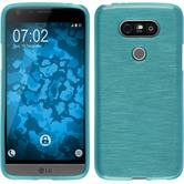 Silicone Case for LG G5 brushed blue