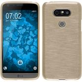Silicone Case for LG G5 brushed gold
