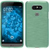 Silicone Case for LG G5 brushed green