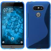 Silicone Case for LG G5 S-Style blue