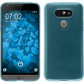 Silicone Case for LG G5 transparent turquoise