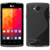 Silicone Case for LG Joy S-Style gray