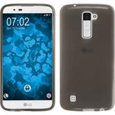 Silicone Case for LG K10 transparent black