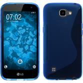 Silicone Case for LG K4 S-Style blue