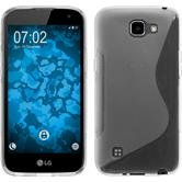 Silicone Case for LG K4 S-Style transparent