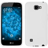 Silicone Case for LG K4 S-Style white