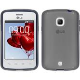 Silicone Case for LG L30 X-Style gray
