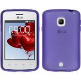 Silicone Case for LG L30 X-Style purple