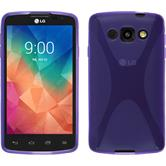 Silicone Case for LG L60 X-Style purple