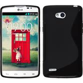 Silicone Case for LG L80 Dual S-Style black
