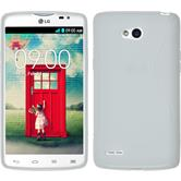Silicone Case for LG L80 Dual S-Style white