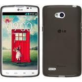 Silicone Case for LG L80 Dual transparent black