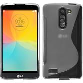 Silicone Case for LG L Bello S-Style transparent