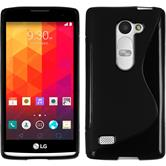 Silicone Case for LG Leon S-Style black