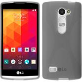 Silicone Case for LG Leon X-Style gray