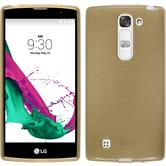 Silicone Case for LG Magna brushed gold