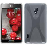 Silicone Case for LG Optimus L7 II X-Style transparent