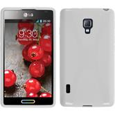 Silicone Case for LG Optimus L7 II X-Style white