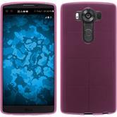 Silicone Case for LG V10 transparent pink
