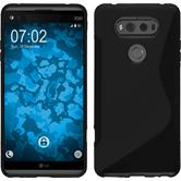 Silicone Case for LG V20 S-Style black