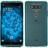 Silicone Case V20 transparent turquoise