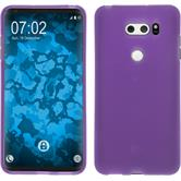 Silicone Case V30 matt purple Case