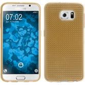 Silicone Case for Samsung Galaxy S6 Iced gold