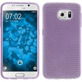Silicone Case for Samsung Galaxy S6 Iced purple