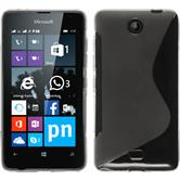 Silicone Case for Microsoft Lumia 430 Dual S-Style transparent