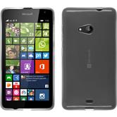 Silicone Case for Microsoft Lumia 535 transparent white