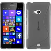 Silicone Case for Microsoft Lumia 540 Dual S-Style gray
