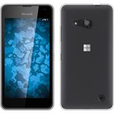 Silicone Case for Microsoft Lumia 550 Slim Fit Crystal Clear