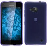 Silicone Case for Microsoft Lumia 550 transparent purple