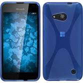 Silicone Case for Microsoft Lumia 550 X-Style blue